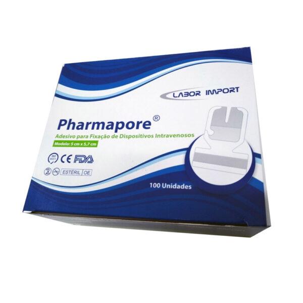 Adesivo para Fixação Pharmapore (LABOR) - Caixa com 100 Unidades