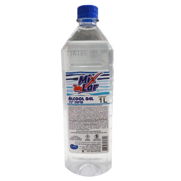 Álcool em Gel 70 (MIXLAR) - Frasco com 1 Litro