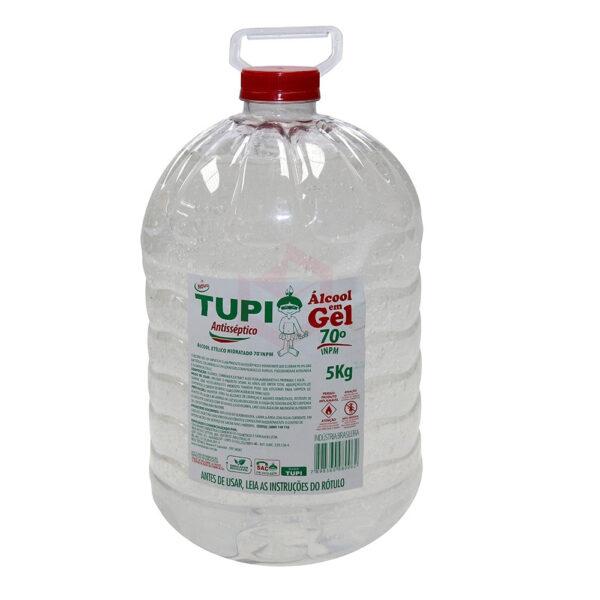 Álcool em Gel 70 Antisséptico - Frasco com 5 kg