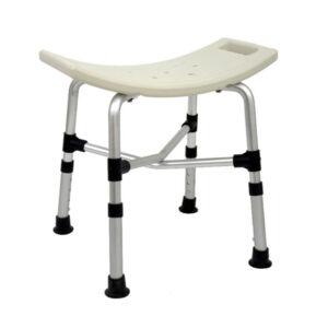 Banco Ortopédico Bege para Banho Premium 170 kg (SEQUENCIAL)