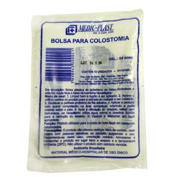 Bolsa de Colostomia (MEDIC) - Pacote com 10 Unidades