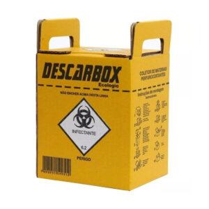 Caixa Coletora para Material Perfurocortante - 20 Unidades