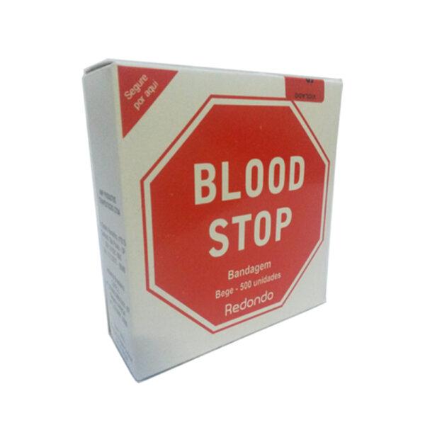 Curativo Pós Punção Venosa Bege (BLOOD STOP) - Caixa com 500 Unidades