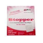 Curativo Pós Punção Venosa Bege (STOPPER) - Caixa com 500 Unidades