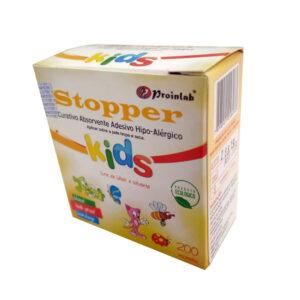 Curativo Pós Punção Venosa Kids (STOPPER) - Caixa com 200 Unidades