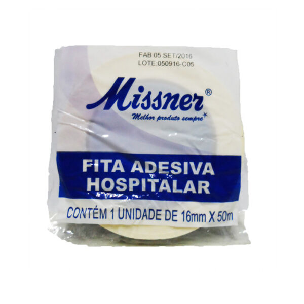Fita Adesiva Hospitalar (MISSNER) 16mm x 50m