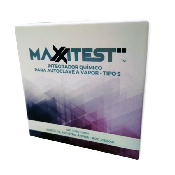 Integrador Químico Tipo 5 (MAXXIMED) - Caixa com 250 Unidades