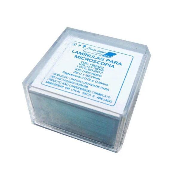 Lamínula de Vidro para Microscopia (CRAL)