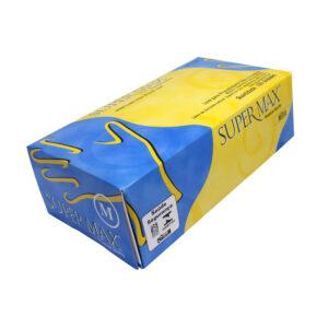 Luva de Látex (SUPERMAX) - Caixa com 100 unidades
