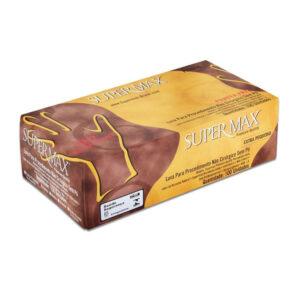 Luva Powder Free (SUPERMAX) - Caixa com 100 unidades