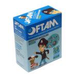 Protetor Ocular Pequeno Azul (OFTAM) - Caixa com 20 Unidades