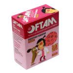 Protetor Ocular Pequeno Rosa (OFTAM) - Caixa com 20 Unidades