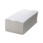 Papel Toalha Branco 20x20 Pacote com 1000 Folhas