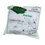 Sapatilha Propé Descartável Branco (PROTDESC) - Pacote com 100 Unidades