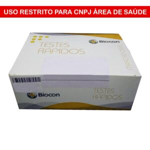 Teste Rápido Dengue NS1 (BIOCON) - Caixa com 10 Unidades