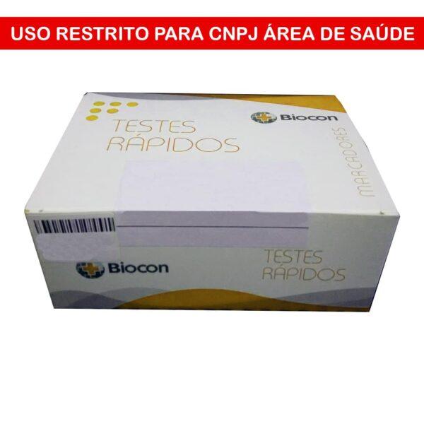 Teste Rápido HCV (BIOCON) - Caixa com 20 Cassetes