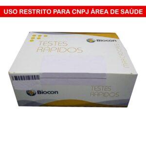 Teste Rápido HBSAG (BIOCON) - Caixa com 20 Cassetes
