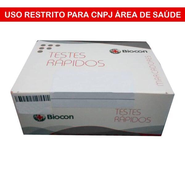 Teste Rápido Multi 12 Drogas (BIOCON) - Caixa com 10 Unidades