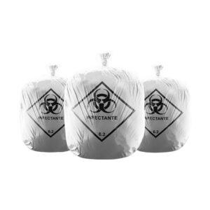 Saco de Lixo Infectante - Pacote com 100 unidades