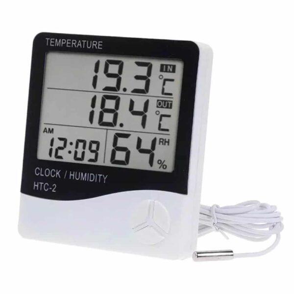 Termo Higrômetro Medidor Temperatura e Umidade - Contém 01 Unidade